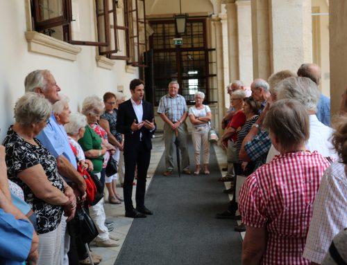 Landtag live: Senioren St. Johann in der Haide zu Gast im Landhaus