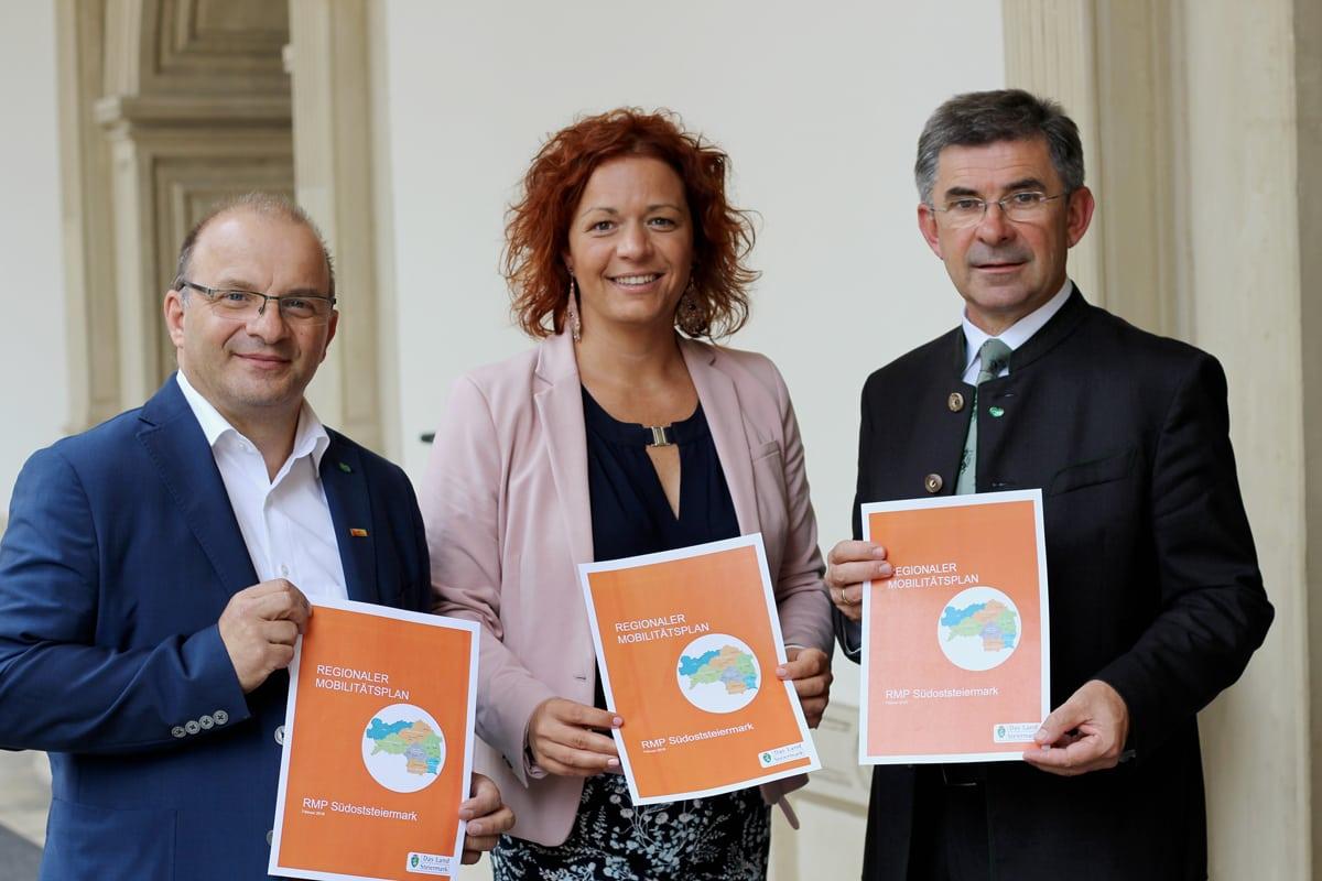 Toni Gangl, Cornelia Schweiner, Franz Fartek