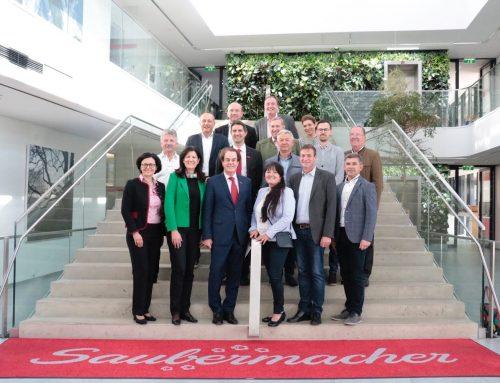 Steirische VP-Abgeordnete im Zeichen des Klimaschutzes bei Saubermacher