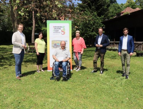 Spende für Behinderte-Selbsthilfe-Gruppe Hartberg