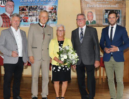 SB-Obmann Florian Kohlhauser feiert 70er