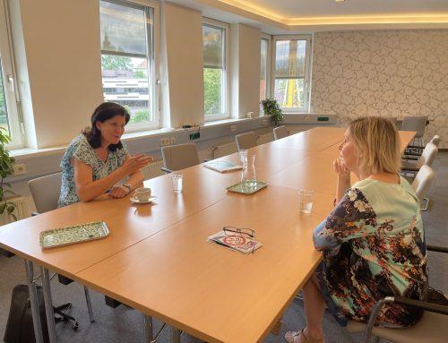 KO Riener besucht Gewaltschutzzentrum